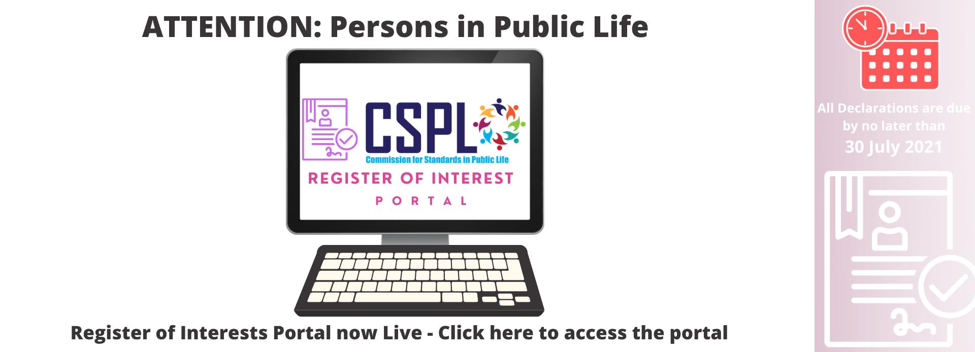 Register Of Interest